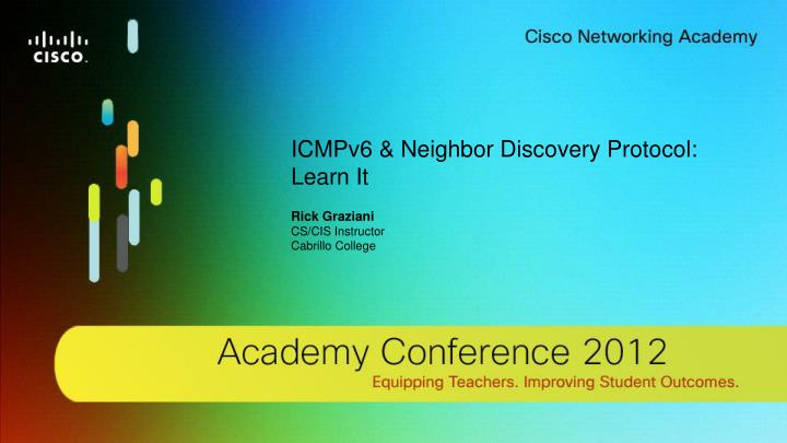 ICMPv6 & Neighbor Discovery Protocol: Learn It