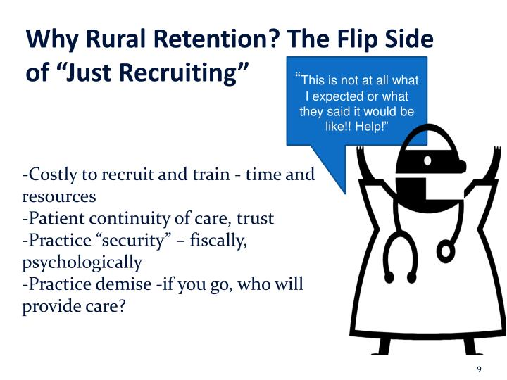 "Why Rural Retention? The Flip Side of ""Just Recruiting"""