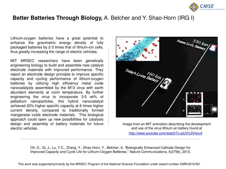 Better Batteries Through Biology,