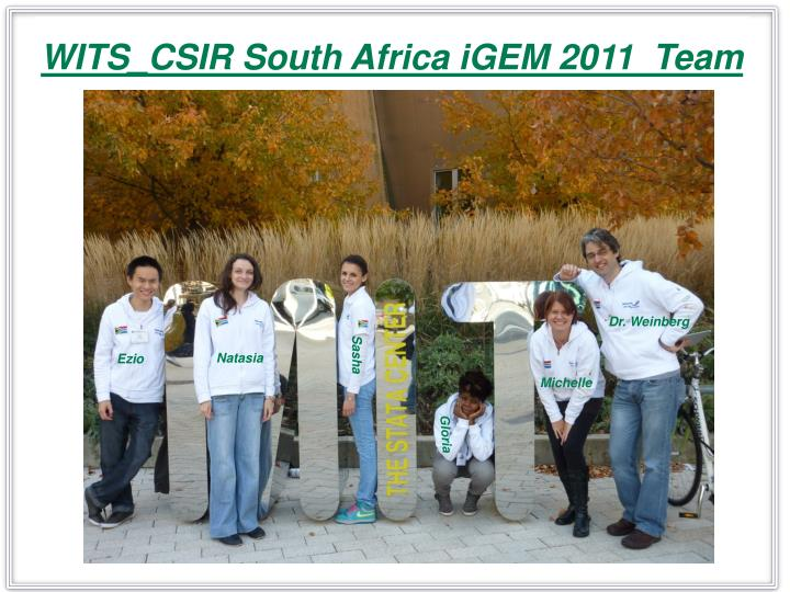 WITS_CSIR South Africa