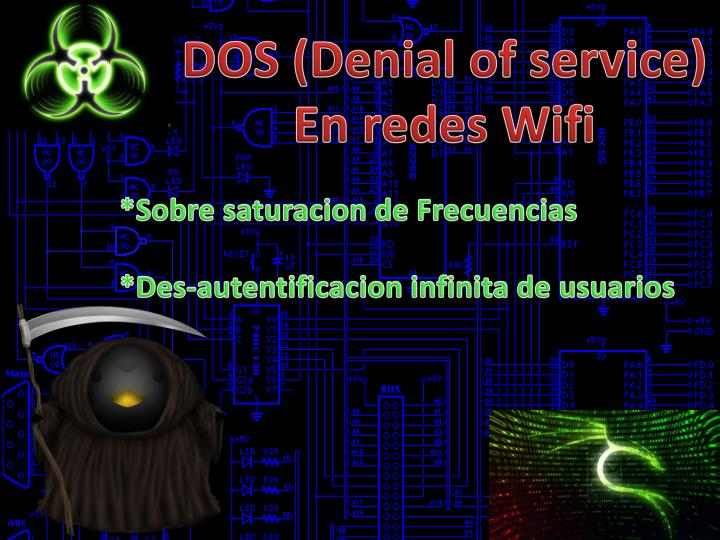DOS (Denial of service)