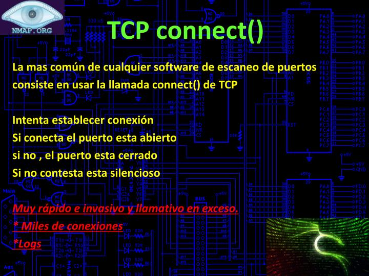 TCP connect()
