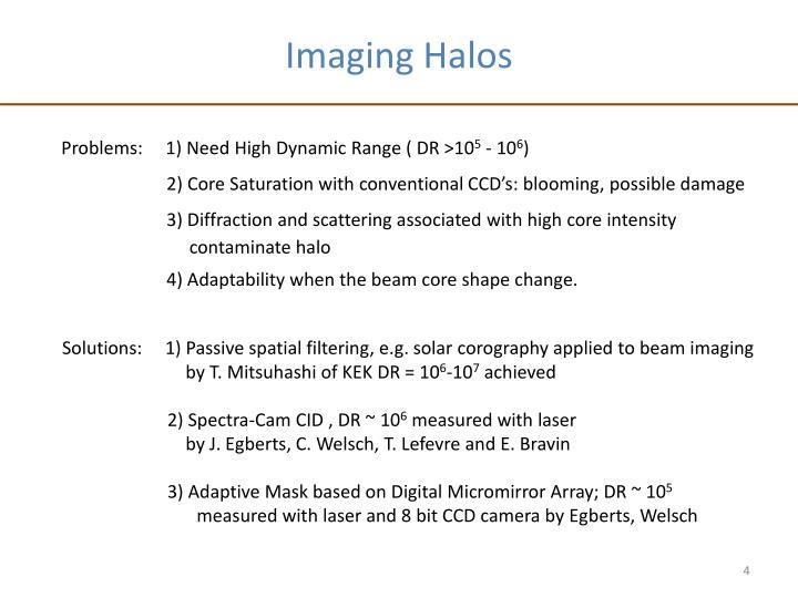 Imaging Halos