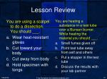 lesson review1