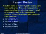 lesson review3