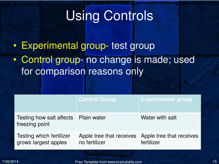 Using Controls