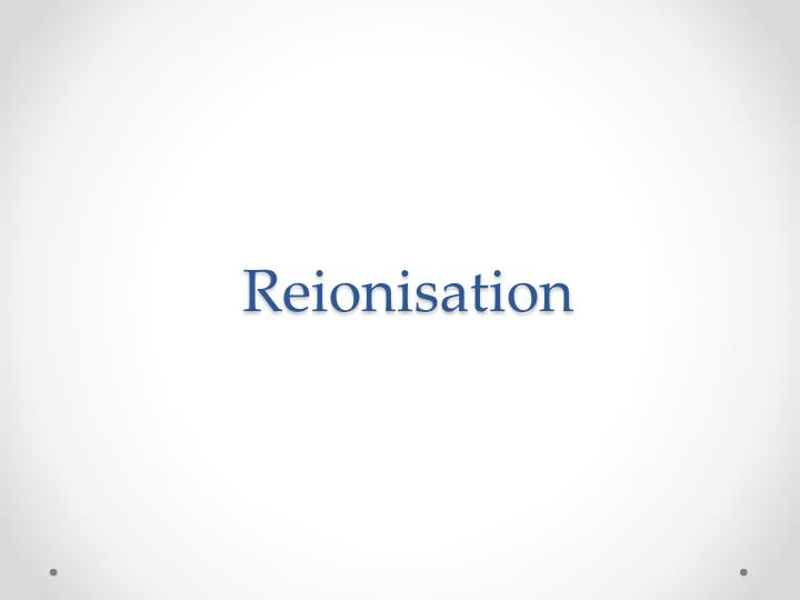 Reionisation