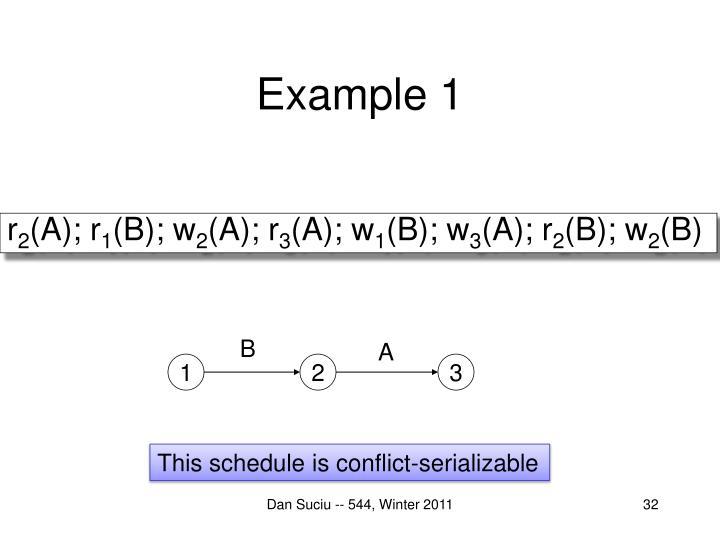 Example 1