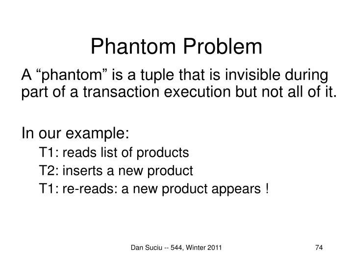 Phantom Problem