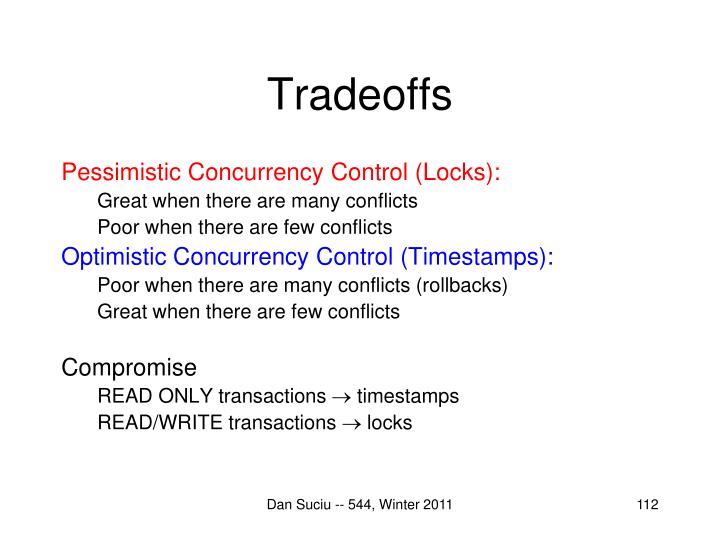 Tradeoffs