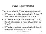 view equivalence4
