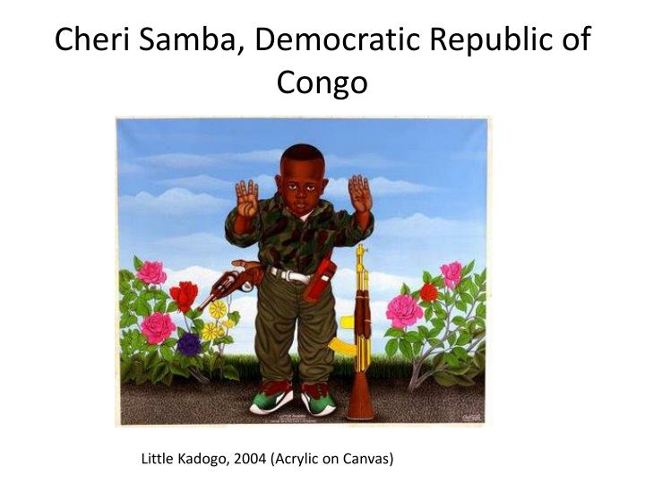 Cheri Samba, Democratic Republic of Congo
