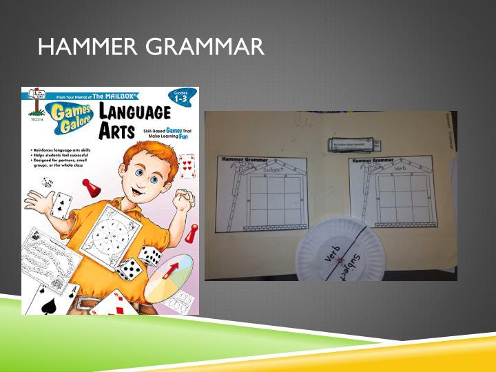 Hammer Grammar