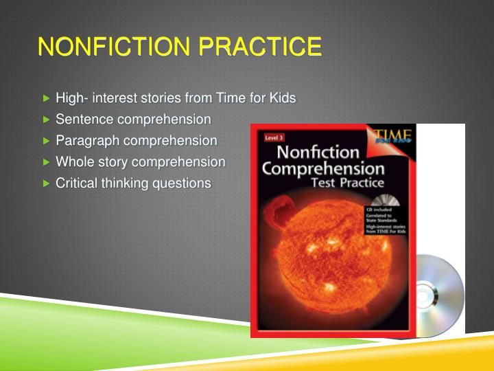 Nonfiction Practice