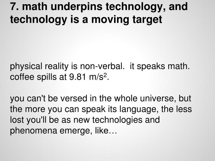 7. math