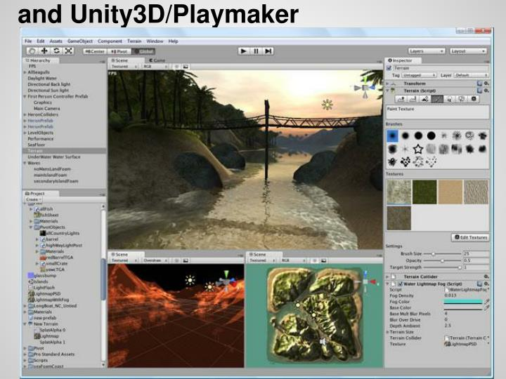 and Unity3D/Playmaker