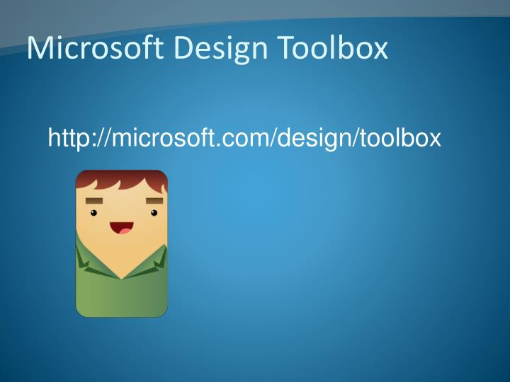 Microsoft Design Toolbox