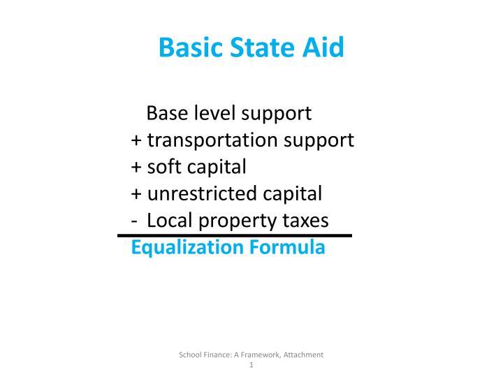 Basic State Aid