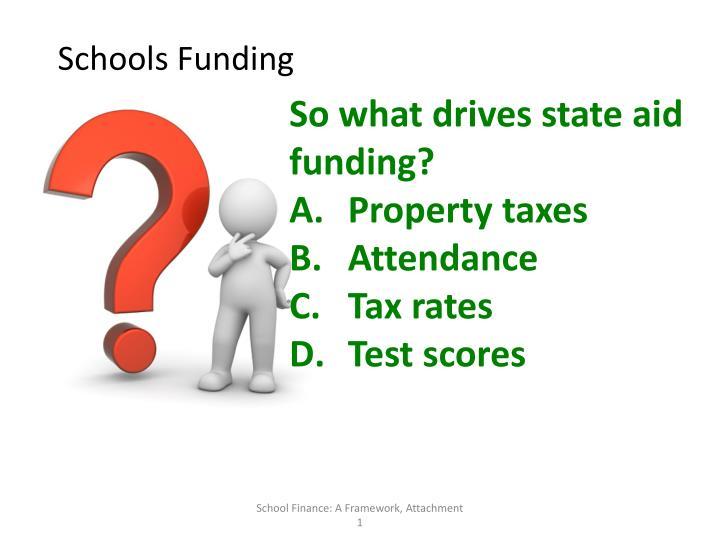 Schools Funding