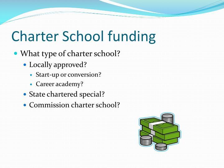 Charter School funding