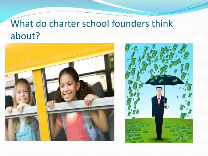 What do charter school founders think about