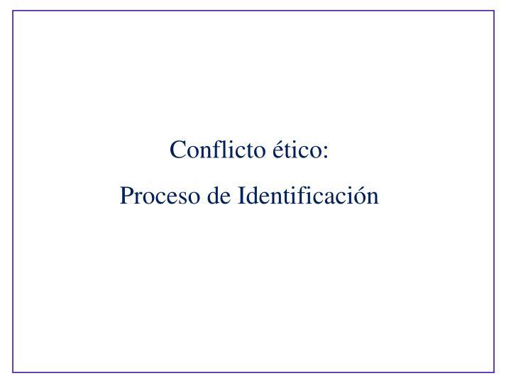 Conflicto tico: