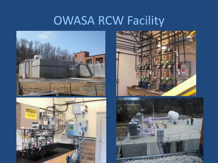 OWASA RCW Facility