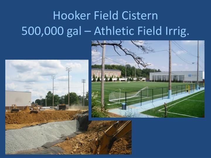 Hooker Field Cistern