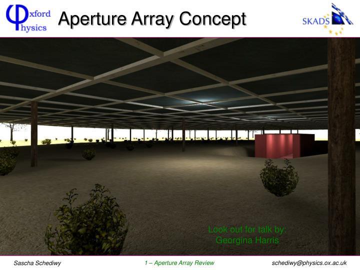 Aperture Array Concept