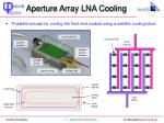 aperture array lna cooling1