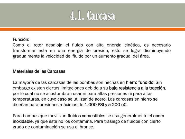 4.1. Carcasa