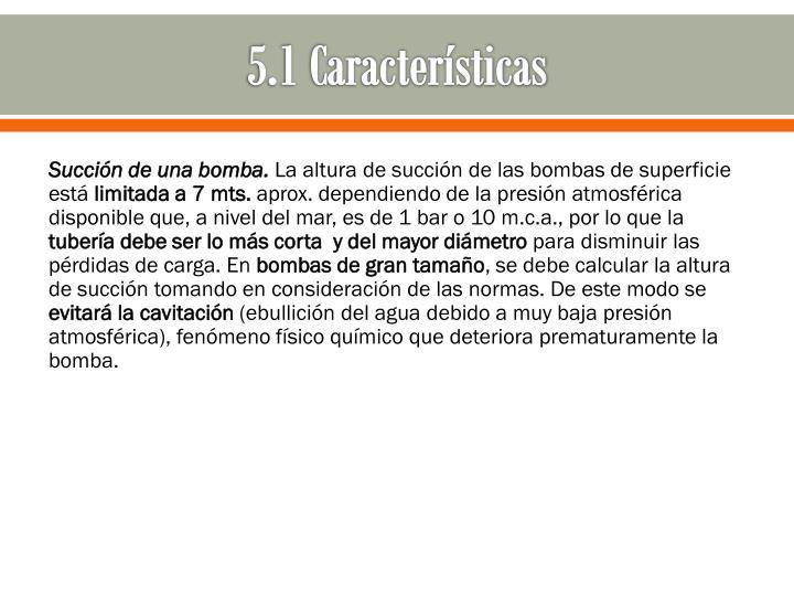 5.1 Características