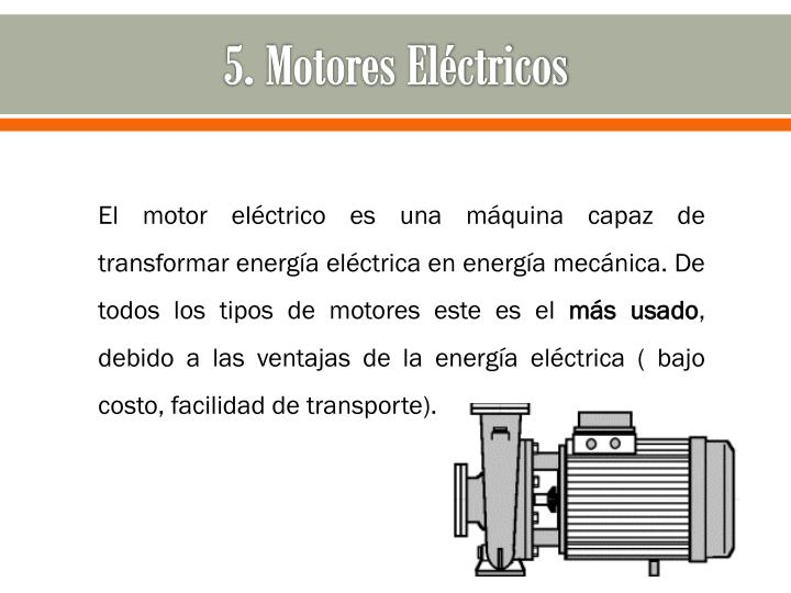 5. Motores Eléctricos