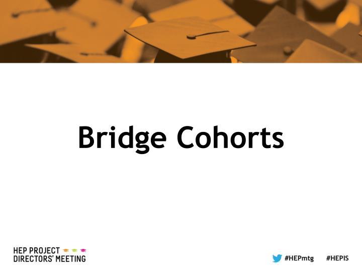 Bridge Cohorts