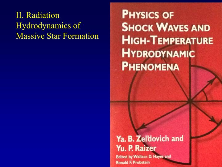 II. Radiation Hydrodynamics of Massive Star Formation
