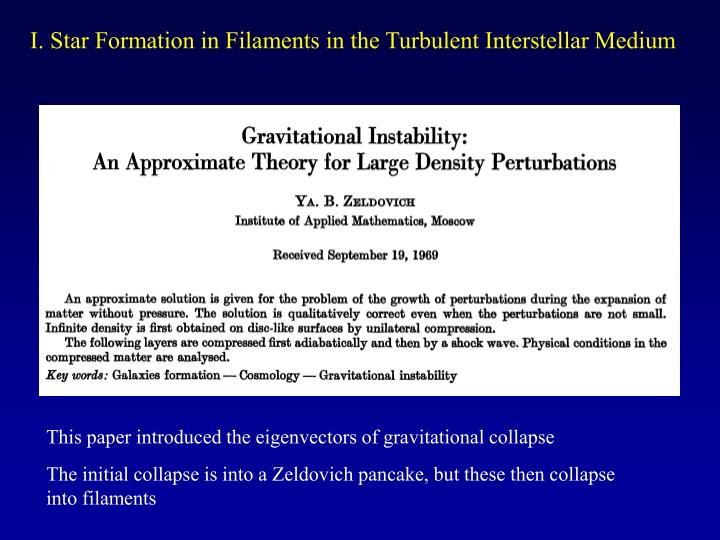 I. Star Formation in Filaments in the Turbulent Interstellar Medium