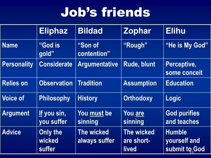 Job's friends