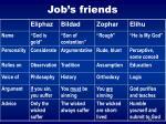 job s friends