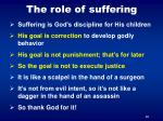 the role of suffering2