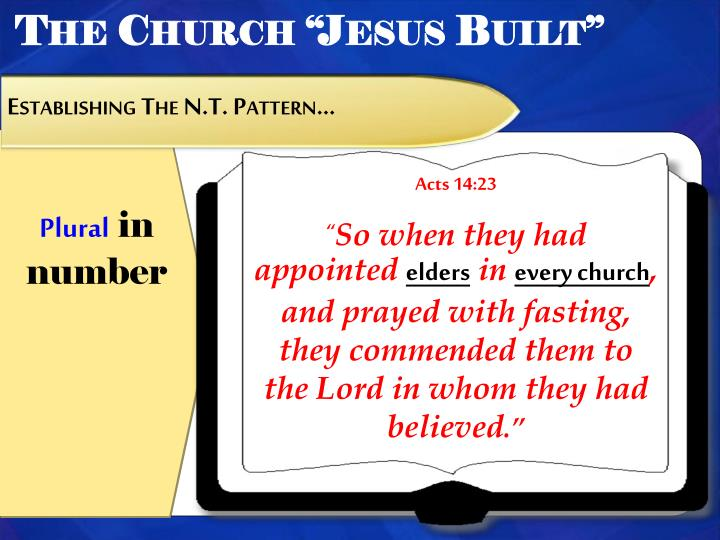 "The Church ""Jesus Built"""