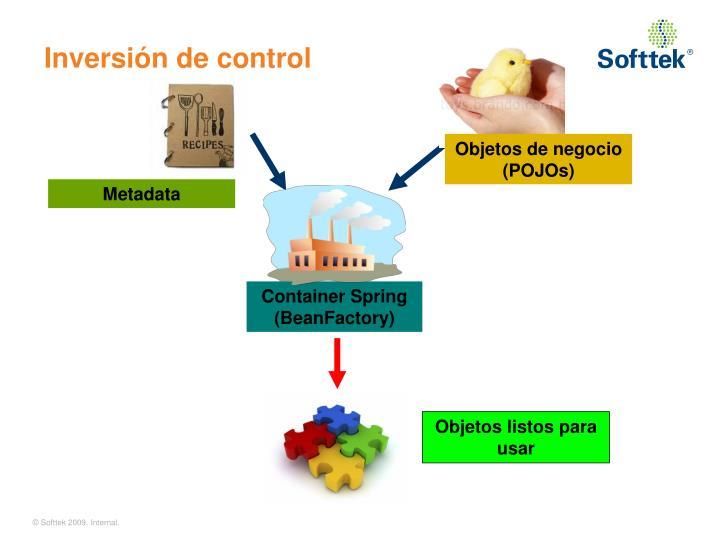 Inversión de control