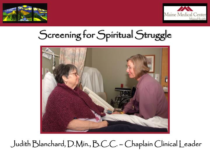 Screening for Spiritual Struggle