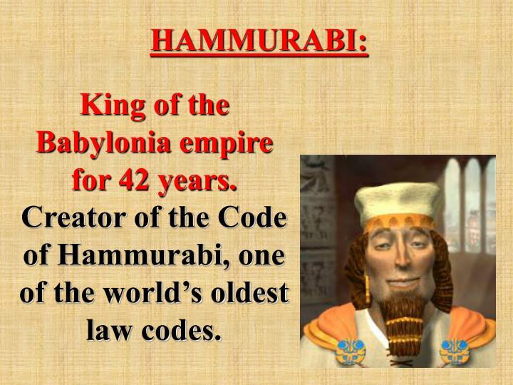 HAMMURABI: