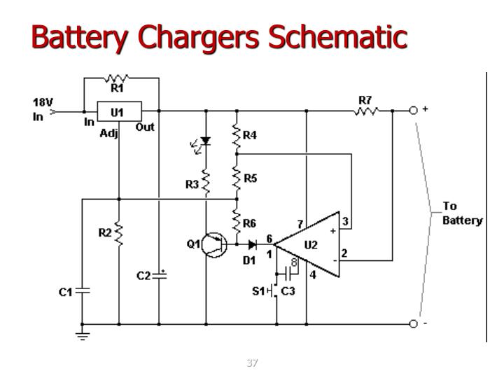 Battery Chargers Schematic