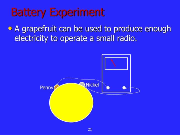 Battery Experiment