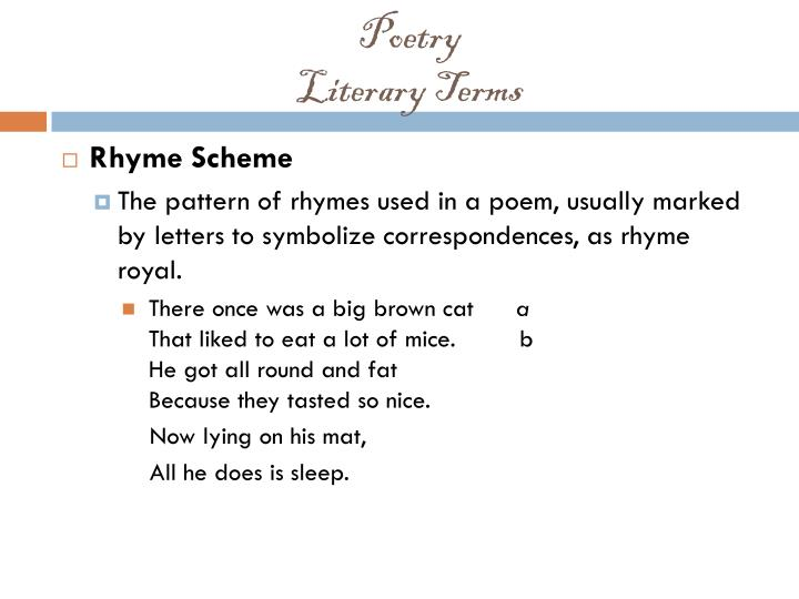 Poetry literary terms2
