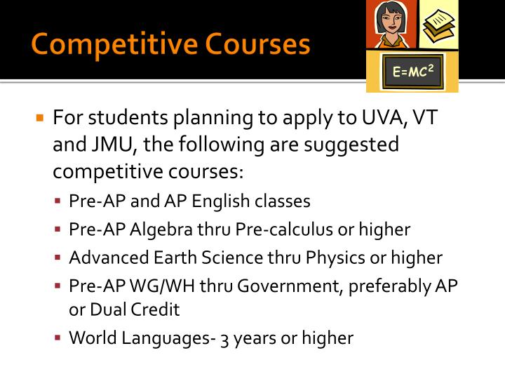 Competitive Courses