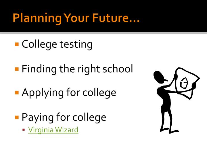 Planning Your Future...