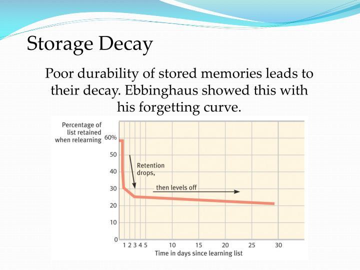 Storage Decay