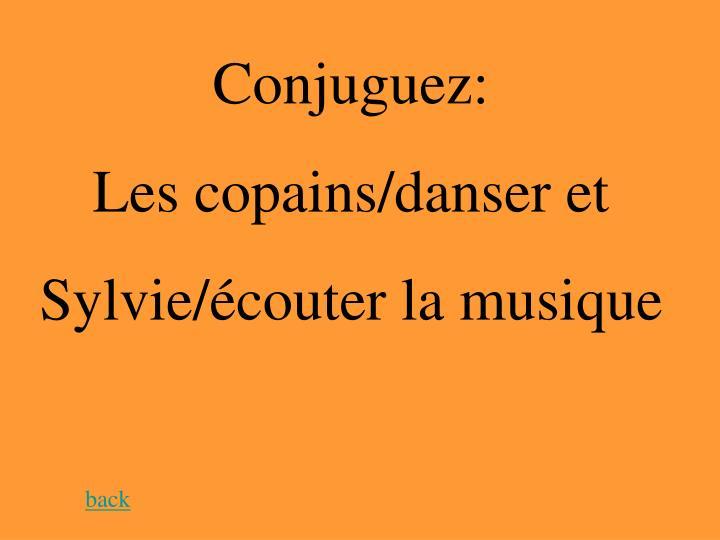 Conjuguez: